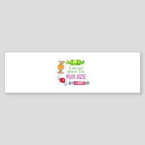 Fun Size Bumper Sticker