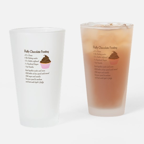 CHOCOLATE FROSTING RECIPE Drinking Glass