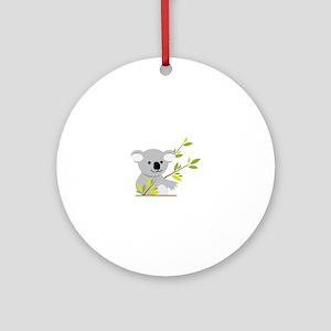 Koala Bear Ornament (Round)