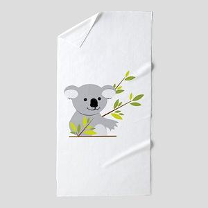 Koala Bear Beach Towel