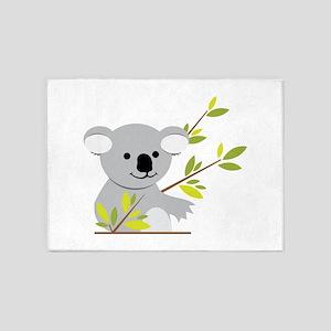 Koala Bear 5'x7'Area Rug