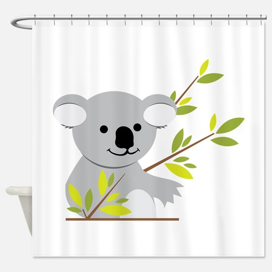 Koala Bear Shower Curtain