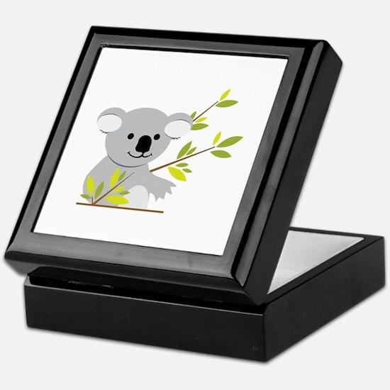 Koala Bear Keepsake Box