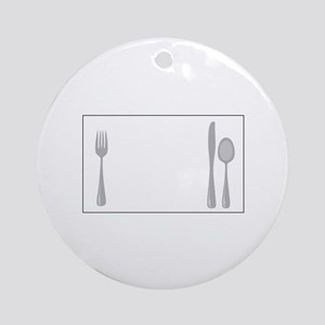 Utensils Ornament (Round)