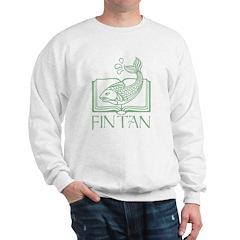 Fin Tan Green Sweatshirt