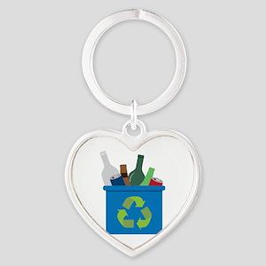 Full Recycle Bin Keychains