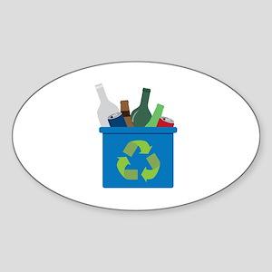 Full Recycle Bin Sticker