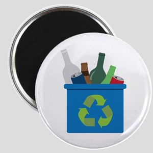 Full Recycle Bin Magnets