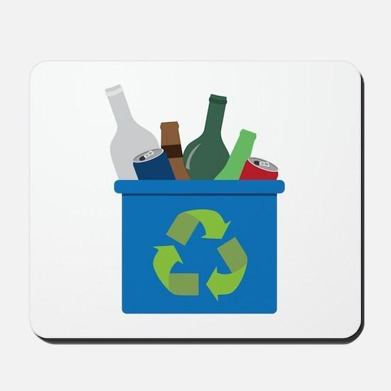 Full Recycle Bin Mousepad