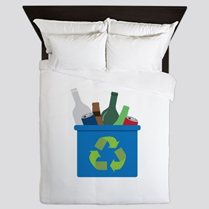 Full Recycle Bin Queen Duvet