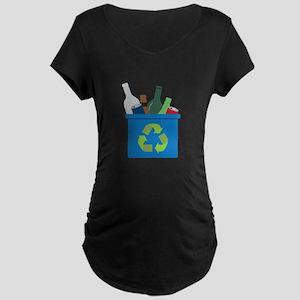 Full Recycle Bin Maternity T-Shirt