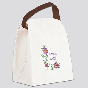 MOTHER TO BE Canvas Lunch Bag