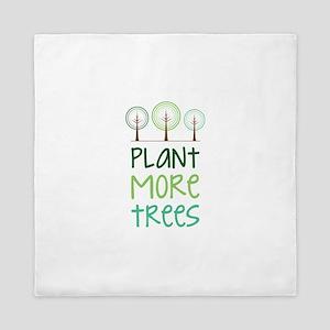 Plant More Trees Queen Duvet