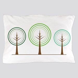 Abstract Trees Pillow Case
