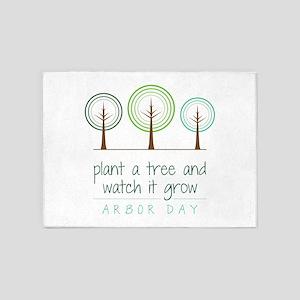 Plant a Tree 5'x7'Area Rug