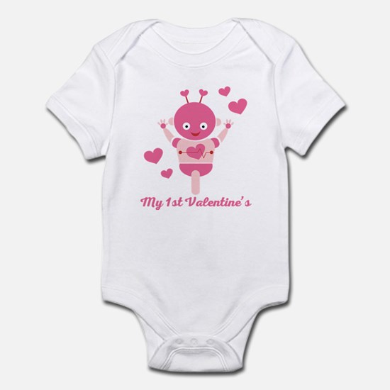 My 1st Valentines Day Robot Body Suit