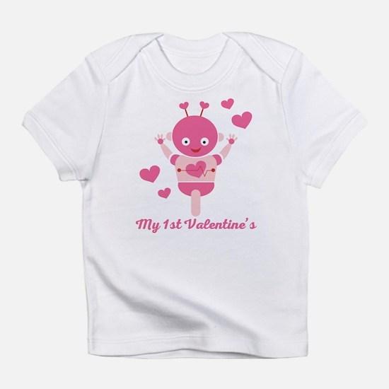 My 1st Valentines Day Robot Infant T-Shirt