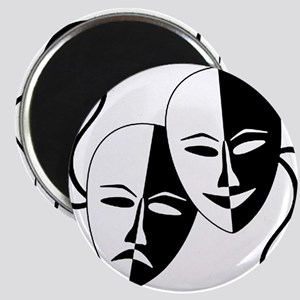 Theatre Masks for Theatre Lover Magnets