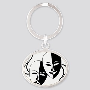 Theatre Masks for Theatre Lover Keychains