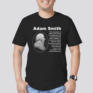 Smith Inequality Men's Fitted T-Shirt (dark)