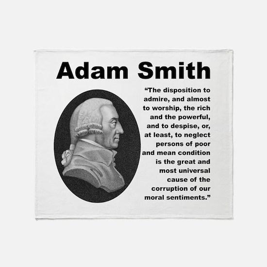 Smith Inequality Throw Blanket