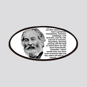 Whitman Inequality Patches