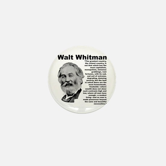 Whitman Inequality Mini Button