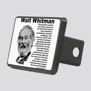 Whitman Inequality Rectangular Hitch Cover
