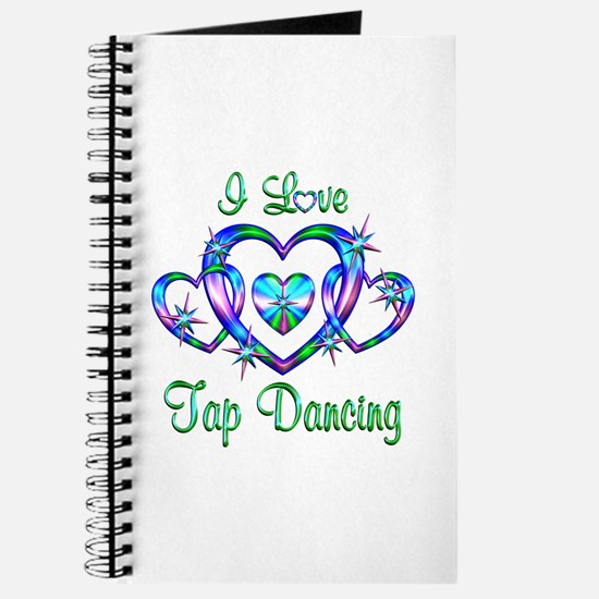 I Love Tap Dancing Journal