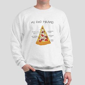 My food pyramid Sweatshirt