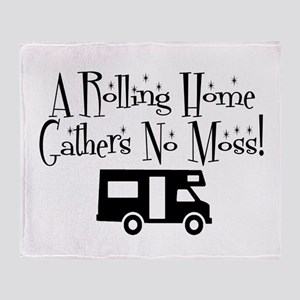Rolling Home Throw Blanket