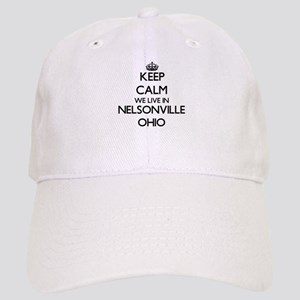 Keep calm we live in Nelsonville Ohio Cap