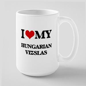 I love my Hungarian Vizslas Mugs