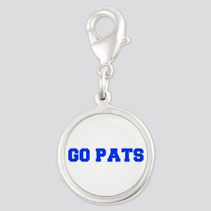 Go Pats-Fre blue Charms