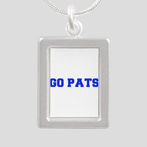 Go Pats-Fre blue Necklaces