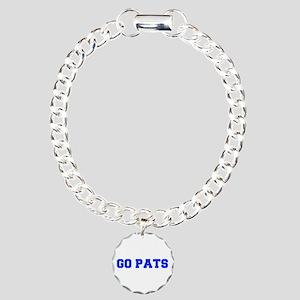 Go Pats-Fre blue Bracelet