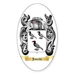 Janicki Sticker (Oval 10 pk)