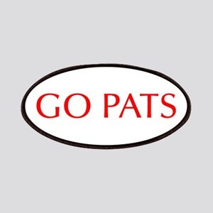 Go Pats-Opt red Patches