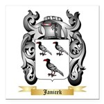 Janicek Square Car Magnet 3