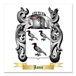 Janic Square Car Magnet 3
