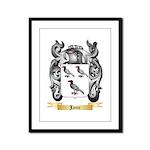 Janic Framed Panel Print
