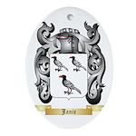 Janic Ornament (Oval)
