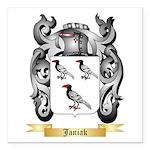 Janiak Square Car Magnet 3