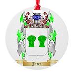 Janes Round Ornament