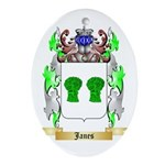 Janes Ornament (Oval)