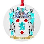 Janes 2 Round Ornament
