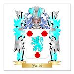 Janes 2 Square Car Magnet 3