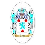 Janes 2 Sticker (Oval)