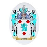 Janes 2 Ornament (Oval)