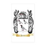 Janer Sticker (Rectangle 50 pk)